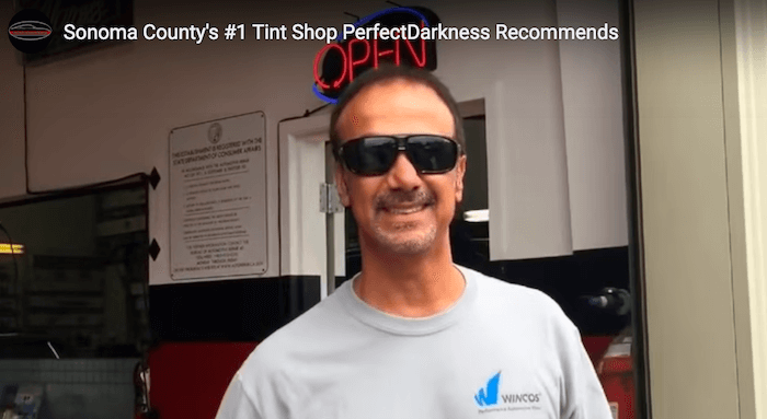 Sonoma County's #1 Tint Shop Perfect Darkness Recommends