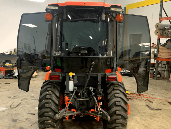 Automotive Window Tinting Tractor