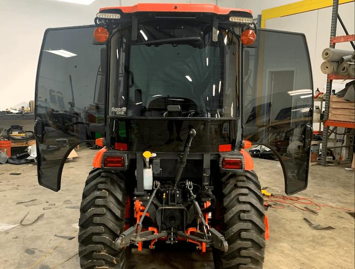 Automotive Window Tinting Tractor