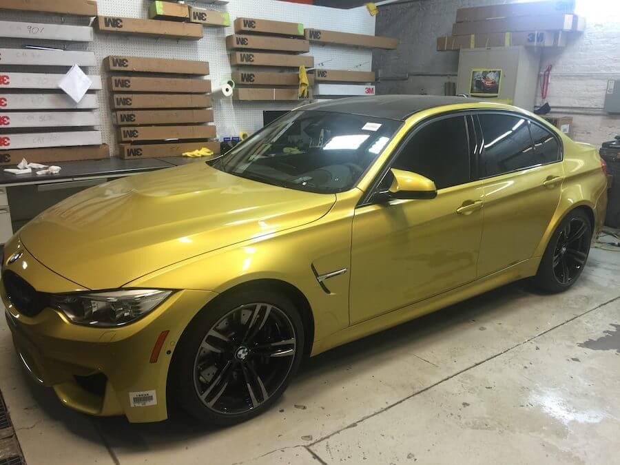 Automotive Window Tinting BMW