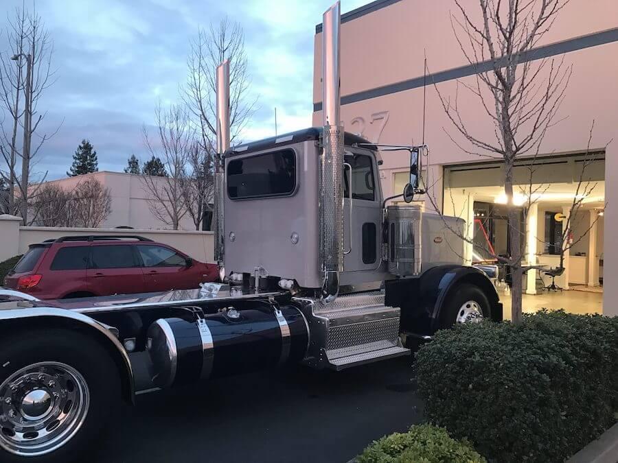 Automotive Window Tinting Semi Truck