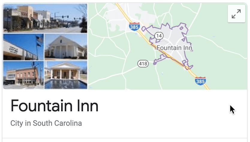 Locations Fountain Inn SC Window Tinting