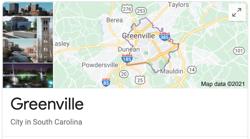 Locations Greenville SC Window Tinting